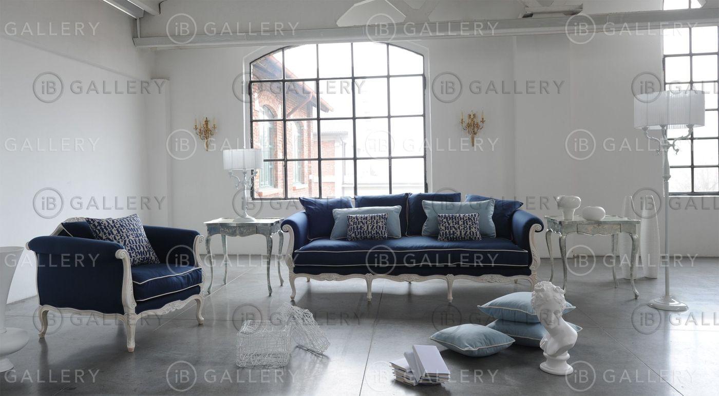 Голубой диван Москва с доставкой