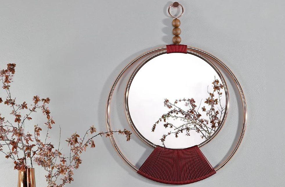 Круглые зеркала: 30 стильных моделей