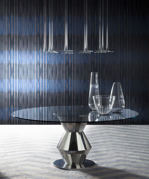 Kruglyj Stol Costantini Pietro Grand Palais 9312t Round Table With Glass Top Iz Italii Cena Ot 380300 Rub Ib Gallery