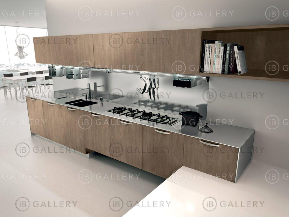 Деревянная кухня Linea Quattro Start Regula из Италии - IB Gallery