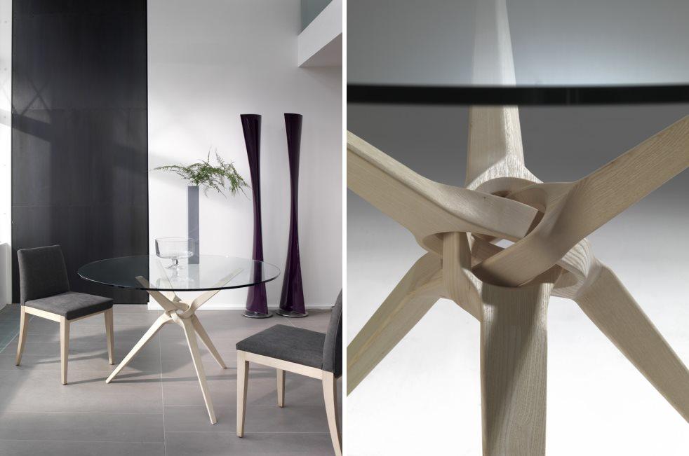 Стеклянная столешница с деревянными ножками столешница массив сосны